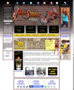 Biker Theme Nightclub Home Page